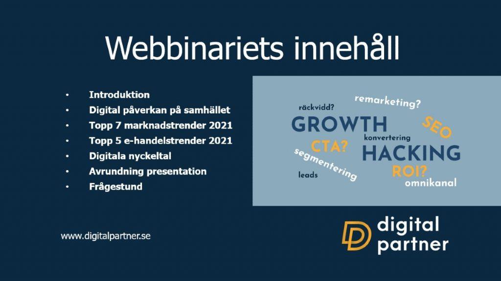 aktiespararna webbinarium marknadstrender ehandelstrender digitalpartner