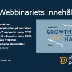 Webinar hos Aktiespararna om marknadstrender och e-handel